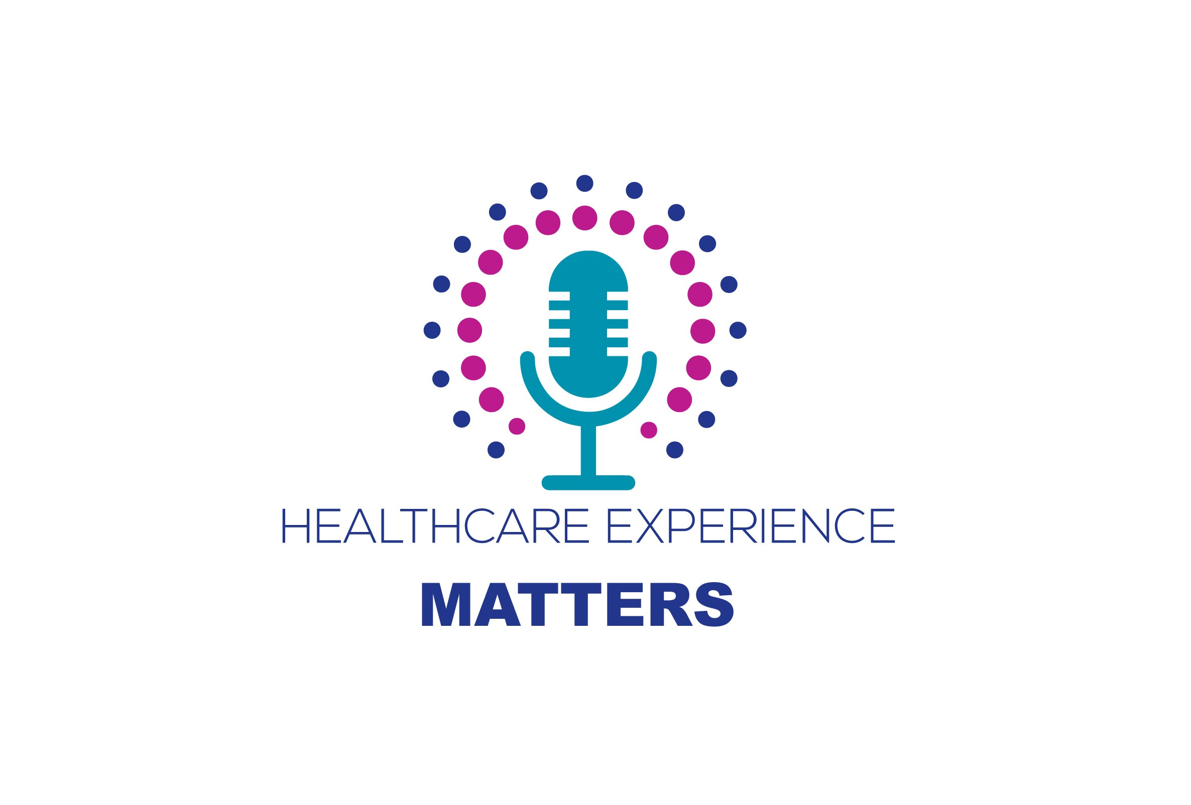Podcast logo for healthcare experience matters